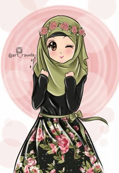 Wanita Muslimah: anime girl with hijab by takomoa on DeviantArt