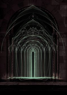 ARCANE TEMPLE / Arches www.complexitygraphics.com by Tatiana Plakhova