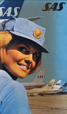 Rethinking the Scandinavian Airlines classical poster ...