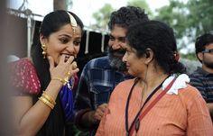 Behind the scenes of Baahubali 2 Indian Actress Pics, Beautiful Indian Actress, Indian Actresses, Bahubali Movie, Rana Daggubati, Prabhas Pics, Shraddha Kapoor, Power Girl, Telugu Movies