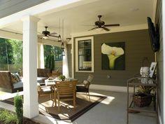 Outdoor Patio Ceiling Idea