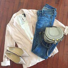 Blush blazer