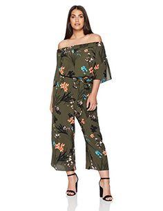 271f7472bf4c City Chic Women s Apparel Women s Plus Size Jumpsuit Jungle Fl