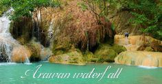บันทึกเที่ยว น้ำตกเอราวัณ ไปนอนเล่น กางเตนท์ชิลๆ ริมน้ำ Arawan waterfall : เที่ยวกับติส