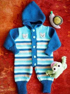 Vauvan neulehaalari Crochet For Kids, Crochet Baby, Knit Crochet, Baby Knitting, Baby Dress, Children, Sweaters, Blog, How To Wear
