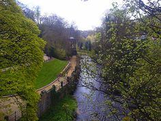 Water of Leith Walkway at Stockbridge - Edinburgh, Scotland