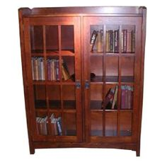 Mission Style Bookcase, My Favorite Man Gave One Like This To Me, Just Love