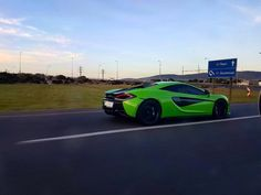 #TopSpot for #ExoticSpotSA this week is this Mantis Green McLaren 570S rolling down the tarmac in Cape Town captured by @am_spots  #Zero2Turbo #McLaren #570S #MantisGreen #SouthAfrica #CapeTown