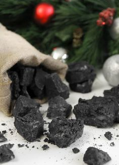 Candy coal recipe for those on the Naughty List