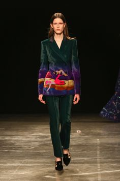 Mary Katrantzou, London Fashion Week Fall 2017 (=)