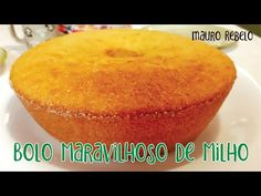 BUSCA DE RECEITAS: Translated recipe at the end of this post. Antes de mostrar esta receita, é preciso dizer que ela foi po... Mole, Cornbread, Cantaloupe, Gluten, Sweet Tooth, Food And Drink, Diet, Banana, Ethnic Recipes