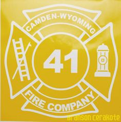 Fire Dept. Custom Made Vinyl Stencil   We have this stencil and much more for sale in our online store.