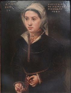 Catharina van Hemessen - Retrato de mujer (1549)