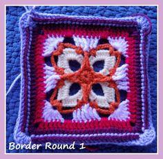 Zooty Owl's Crafty Blog: Seaside Winter Blanket: Scottburgh Square 2
