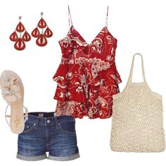 Simply red - Polyvore