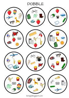 English Freak | Blog o nauczaniu języków obcych: 5 POWTÓRKOWYCH GIER, KTÓRE MOŻEMY ZABRAĆ NA ZAJĘCIA LUB W PODRÓŻ - 5 PRINTABLE VOCABULARY GAMES English Games For Kids, Teach English To Kids, English Activities, Teaching English, English Vocabulary Games, Grammar Games, Revision Games, Letter F Craft, Printable Games For Kids