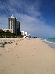 Miami Beach! Had a few hours to walk the beach after training the City of Cutler Bay FL
