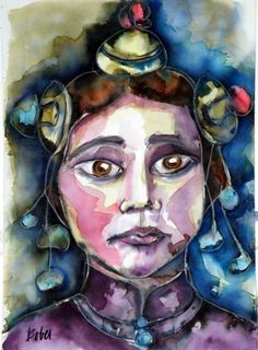 Tibet Art, Middle Ages, Saatchi Art, Art Drawings, Ink, Artist, Anime, Painting, Fictional Characters