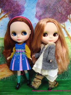 Blythe Doll, Phobe MayBe, Vinter Arden  - i want both of their stock outfits