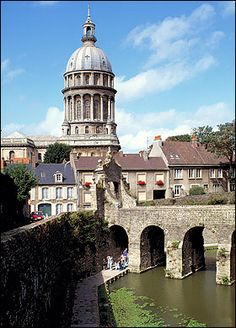 Boulogne, France, just across the Channel, great little town