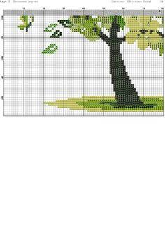 Дерево схема 2 Cross Tree, Cross Stitch Tree, Cross Stitch Alphabet, Simple Cross Stitch, Cross Stitch Flowers, Diy Embroidery, Cross Stitch Embroidery, Embroidery Patterns, Cross Stitch Designs