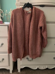 421a4355 BRAND NEW: These Three Boutique Dusty Rose Chenille Cardigan (Size: M/L)  #fashion #clothing #shoes #accessories #womensclothing #sweaters (ebay link)