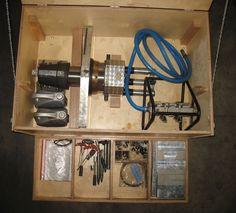 Rohrendenfräsmaschine DWT GmbH MF6i-50 ROHRANFASMASCHINE Druckluft Fräsmaschine