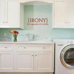 Uppercase Living ~ Laundry Room Https://brookebeney.uppercaseliving.net to order online or contact me.