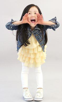 Children's Denim Jacket by The Jany #TheJany #AsianFashion #KidsFashion