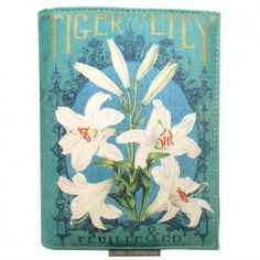 In Bloom Tiger Lily Clutch Bag