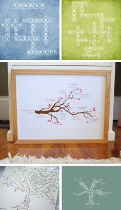 Cool family genealogy in Babies and kids room decoration