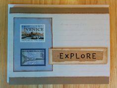 Explore card by Cindysnoopy on Etsy, $3.50