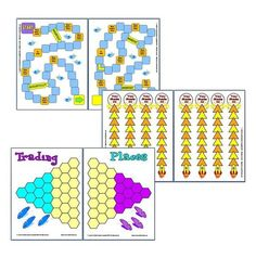 FREE Game Boards!: