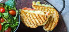 Varm sandwich med tomat, avokado og ost | Lises blogg