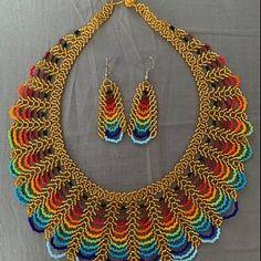 This item is unavailable - Boncuk takı - This item is unavailable Mexican Jewelry Native jewelry Peyote Bracelet Huichol Bead Jewellery, Beaded Jewelry, Beaded Bracelets, Beaded Earrings, Jewelry Patterns, Beading Patterns, Art Perle, Native American Earrings, Flip Flops