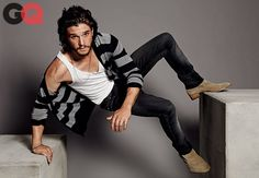 Kit Harington GQ Cover Shoot - April 2014