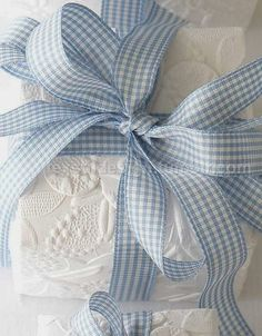 Wrapped in gorgeous fabric lace & ribbon!