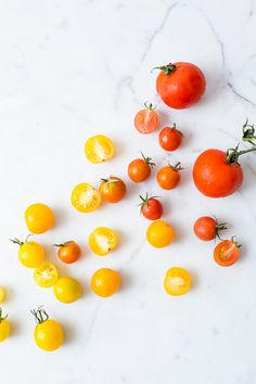 Ombré tomatoes