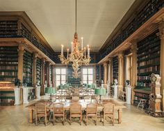 Bibliothèque Mazarine, Paris, France, 2014 (© Franck Bohbot - House of Books)