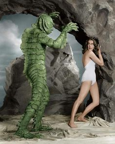 Julie Adams, who is best known for starring in the 1954 classic horror film Creature From the Black Lagoon, passed away at the age of 92 on Sunday morning. Retro Horror, Sci Fi Horror, Vintage Horror, Horror Films, Horror Icons, Classic Horror Movies, Classic Movies, Scary Movies, Old Movies