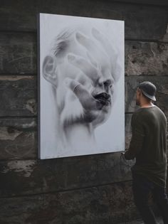 Oil painting title '' Fragile '' • Dimensions 150 X 105 X 7cm / Oil on Plywood • Weight 15 Kg • Sold • Owner: @kamilalochert  #art #streetart #painting #blackandwhite #fineart #artwork #drawing #creative #arte #portrait #theartshed #magicgallery #details #church #aartistic_dreamers #doublexposure #facepaint #feeling #naturepainting #spotlightonartist  #kunst #strassenkunst #modernekunst #spraypaint #urbanart #myart #newart #summerexhibition2017 #the_theclassyissue #summerexhibition…