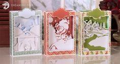 Christmas Box Cards SVG Files