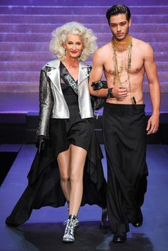 Jean Paul Gaultier Spring 2015 Ready-to-Wear Fashion Show