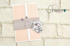 Eine Babykarte mit dem Stempelset Tierische Glückwünsche von Stampin' Up! Details zur Gatefold-Karte findest Du auf meinem Blog inklusive der Bestellmöglichkeiten der Stampin' Up! Produkte.