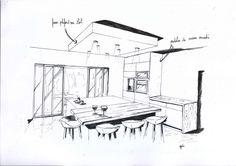 Délimiter votre espace cuisine avec un faux plafond!