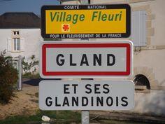 Gland (Yonne) | 46 communes françaises au nom complètement absurde