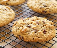 RECIPECranberry-Pecan Oatmeal Cookies; I love the idea of cranberries, pecans and oatmeal in a cookie!  Thank you Rosemary!