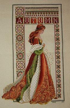 Celtic Lady SAL: Celtic Autumn Conversion I love these colours