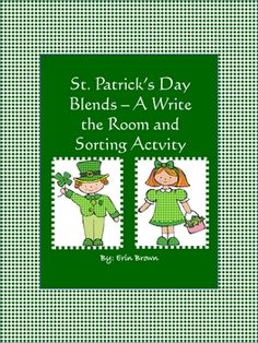 Your students will feel lucky to have a chance to sound out the blends on these cute St. Patrick's Day themed cards.  A recording sheet is also inc...