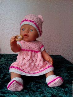 Beautiful Children, Beautiful Dolls, Baby Born Clothes, Knit Crochet, Crochet Hats, Stuffed Toys Patterns, Doll Toys, Girl Dolls, Puppets